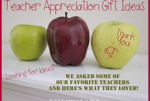 Teacher/student gifts / by Nikki Criswell