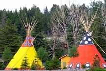 Native American Teepees / by Terry Sutherland