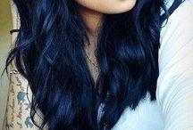 negru albastrui