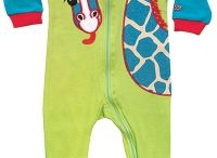 SOZO Adorable Footed Rompers