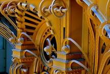Art Nouveau architecture / Art Nouveau, architecture à Paris, Bruxelles, Europe