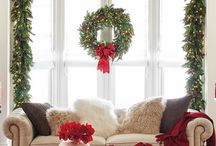 Holiday Decor / Beautiful inspiration for your holiday decor! Receive your guests with charming center pieces, home entrance, bathroom, and more!