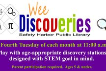 Children's Programs / We have many things happening at the library! Check it out!