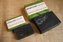Natural Charcoal Soap / Enhanced with super-fine charcoal powder, our handmade natural soap offers excellent cleansing and leaves a beautiful feel on the skin.