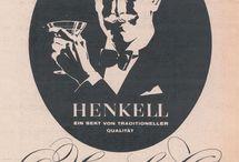 Time Travel / Retro Commercials, Alte Werbung, Henkell, Werbemotive