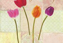 remy dellal / quadri con fiori