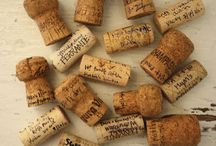 .things to do with corks. / ideas when the corks gather up.