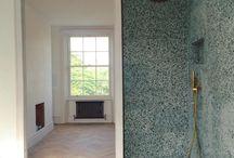Terazzo and tile Bathroom