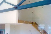 Balustrades / We supply and install interior or exterior balustrade systems. There are many options from seemly frameless balustrade to exposed fittings with many choices of design and finish with or without hand rails.  http://idealglassandglazing.co.uk/balustrade.html / by Ideal Glass and Glazing