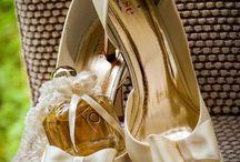 Schoenen voor de bruid / De schoenen van de bruid moeten prachtig en praktisch tegelijkertijd zijn. Laat deze schoenen een voorbeeld voor jouw bruiloft zijn!