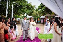 Yosia & Rita / amazing beach weddings in Jimbaran Bali with Bali Top Wedding