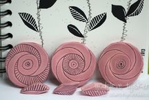 Stamps: Making your own. / This is everthing to do with carving your own stamps. Tools, designs and how-to