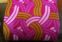 Porta moedas / Tecido africano