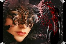 ♥faces & masks♥ / ♫ All of us have ways in which we mask and cover our pain.◄