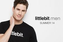 Campaign: Men SS14 / Quality mens t-shirts and caps from littlebit.com.