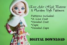 Sewing - Ever after high doll