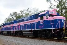 Train - FECR - Florida East Coast Railway