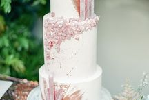 Cakes and Dessert / Inspiration, ideas for wedding cakes and desserts. YUM!