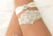 Bridal garters