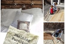 furniture stain how to