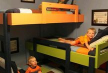 Detská poschodová postel