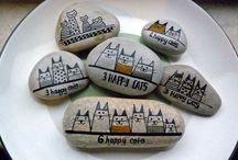 ζωγραφιές σε πέτρες