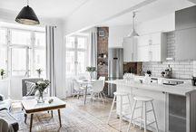 Kitchen+livingroom