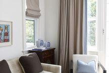 Soft Roman Shades / Soft Fabric Roman Shades interior decorating styles