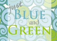 Blue and Green Beauty / by Peggy Arteberry