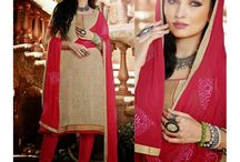 Unstitch Salwar Suits / Unstitched Suits - Buy Unstitched Salwar Suits Online in India at Kaashvi Creations