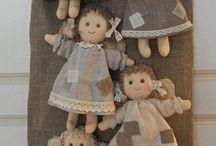 angelo bambola fatto a mano