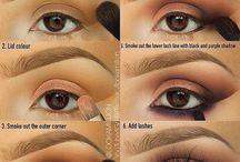 Beautifull make-up&nails