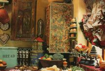 Bohemian kitchen