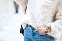 Style / Dress up in chunky sweater