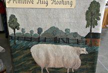 primitive rugs