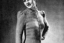 Vintage Knitting and Crafts