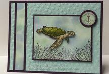 Cards - Sea Life and Beach