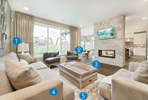 Get the Look / Here are some of our beautiful showhome interiors and where you can go to re-create the style in your home. For more inspiration visit our website and browse our show home gallery: http://broadviewhomes.com/calgary.