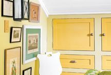 paint ideas for cabinets / by Theresa Clouser