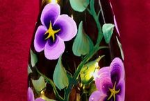 Bottles, Jars and Glass Art