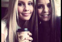 Claire Holt & Nina Dobrev