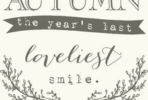The year's last lovely smile / Automn