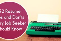 Resume Writing / Strategies on having a killer resume and get hired