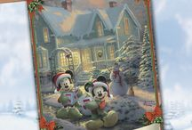 Thomas Kinkade Christmas Gifts and Home Decor / The perfect Christmas gifts for the Thomas Kinkade fan in your life - featuring fine art and home decor that celebrates the season
