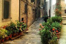Toscana / Cestování -Toskansko