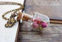 Glass globe jewelry