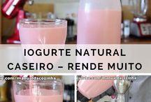 iogurte natural e afins