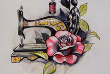 Sewing Tattoo Ideas / I'm considering getting a sewing themed tattoo