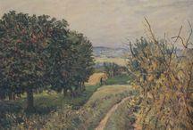 Alfred Sisley ( 1839 - 1899 ) Pintor / Movimento estético: Impressionismo