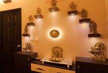 Pooja room decor